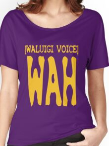 Waluigi Voice Shirt Women's Relaxed Fit T-Shirt