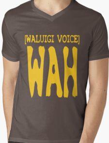 Waluigi Voice Shirt Mens V-Neck T-Shirt