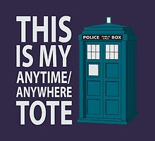 anytime or place tote by manikx