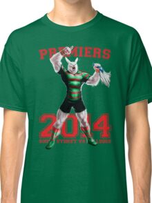 'The Mighty Premiers From South Sydney' 2014 Print By Grange Wallis Classic T-Shirt