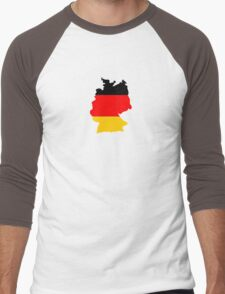 Germany Men's Baseball ¾ T-Shirt