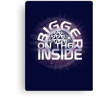 SSE-Bigger on the Inside-Purple Canvas Print