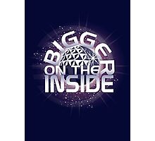 SSE-Bigger on the Inside-Purple Photographic Print