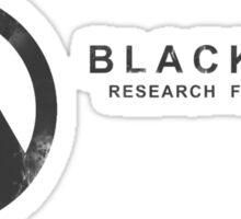 Black Mesa Research Facility Sticker