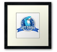 Left Shark MVP 2 - Super Bowl Halftime Shark 2015 Framed Print