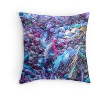 Bollywood Knit II Throw Pillow