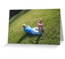Summertime Teenage Dreams Greeting Card