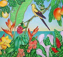 Australian Regent Parrot by joeyartist