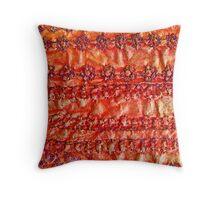 Molten Stitch Throw Pillow