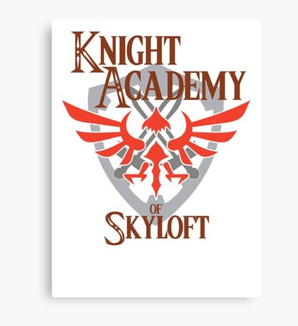 Knight Academy of Skyloft Alternate version Canvas Print