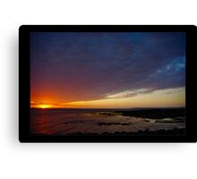 Thursday Morning sunrise Canvas Print