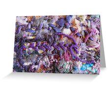 Purple I Greeting Card