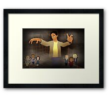 Abed's Dream Framed Print