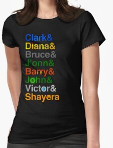 Just Us Names Womens Fitted T-Shirt