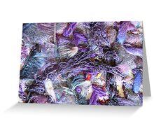 Purple II Greeting Card