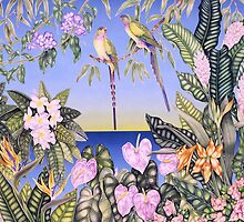 Princess Parrots by joeyartist