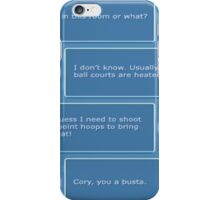 Cory in the House nintendo DS iPhone Case/Skin