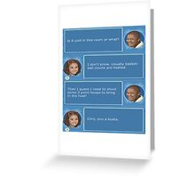 Cory in the House nintendo DS Greeting Card
