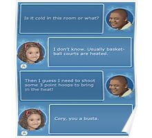 Cory in the House nintendo DS Poster
