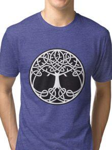 Celtic Tree of Life Tri-blend T-Shirt