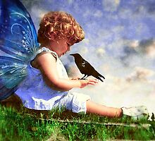 Baby and the Bird by Hollie Cook