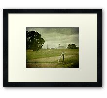 Deeargee Woolshed, Gostwyck, New South Wales, Australia Framed Print