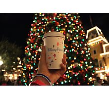 Coffee, Christmas, and Disney Magic. Photographic Print