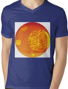 Orange decor  Mens V-Neck T-Shirt