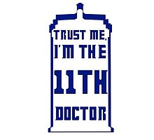 Trust me, I'm the 11th Doctor by MadManHolleran