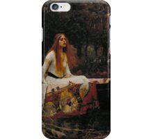 The Lady of Shalott iPhone Case/Skin