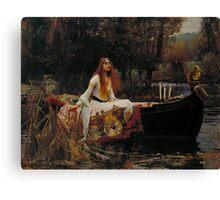 The Lady of Shalott Canvas Print