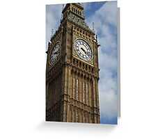 St Stephen's Tower (Big Ben) Greeting Card