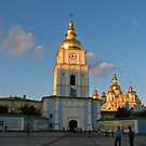St Michael's gold-domed monastery  by LudaNayvelt