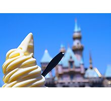 Dole Whip Castle Photographic Print