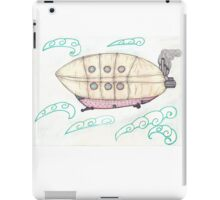 SteamPunkBlimp1 iPad Case/Skin