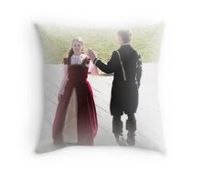 Peasant Dance Throw Pillow