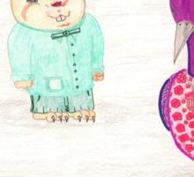 Frog, Hamster, Bird Sticker