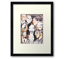Mandy Moo Framed Print
