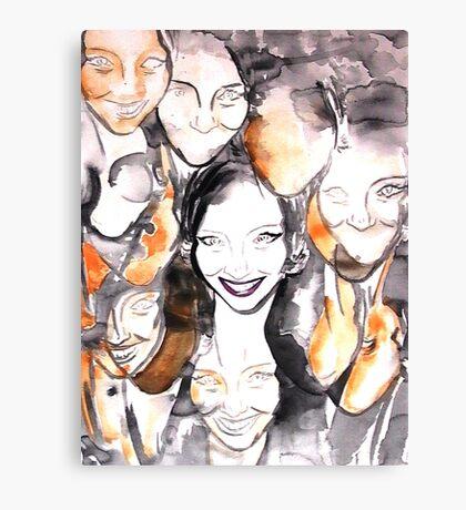 Mandy Moo Canvas Print