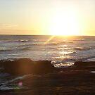 Sunrise Over the Atlantic by Diane Petker