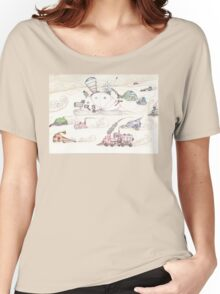 Gnome SteamPunk Caravan Women's Relaxed Fit T-Shirt