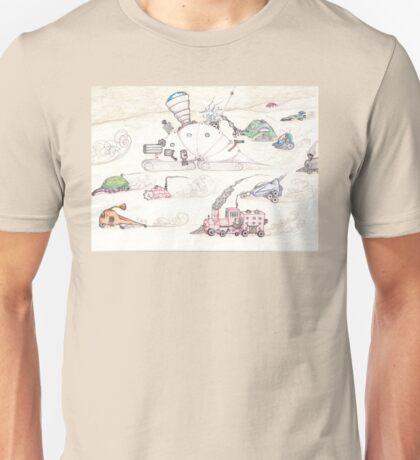 Gnome SteamPunk Caravan Unisex T-Shirt