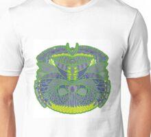 Green Ornate Decor Unisex T-Shirt