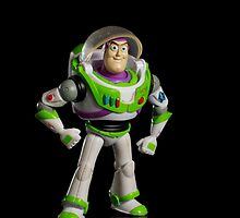 Buzz lightyear by Johan Larson