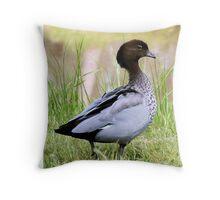 Proud Mother Duck Throw Pillow