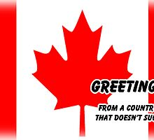 Canada's New Federal Greeting Card by RPGesus
