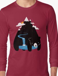 The Mountain Bear Long Sleeve T-Shirt