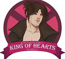 King of Hearts - Remy LeBeau by headtraumakid