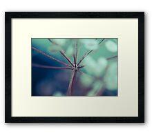 vie cellulaire Framed Print