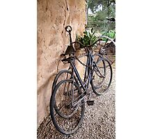 Bluey Bludstone's Bicycles Photographic Print